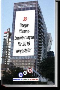 35 Google Chrome Erweiterungen