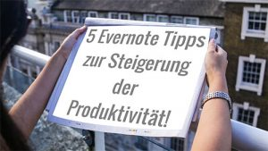 5 evernote tipps
